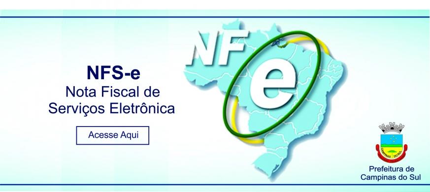 Banner Nota Fiscal de Serviços - NFSe